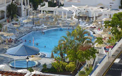 Tenerifei szálloda medencéje, Hollywood Mirage Club