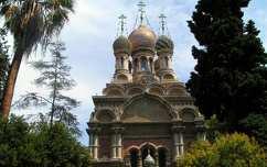 Ortodox templom, San Remo
