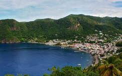 St. Luchia, Karib-szigetek