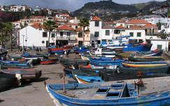 Madeirai halászhajók
