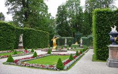 A linderhofi kastély parkja, Námetország