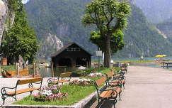 Traunkirchen a Traun tó partján,Ausztria