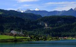 Lungern látképe Svájc