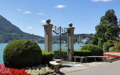 Lugano tava, séta útja, Svájc