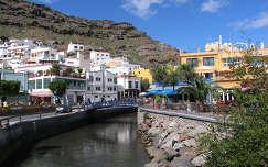 Csatorna, Puerto de Mogan, Gran Canaria
