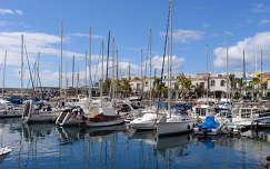 Puerto de Mogan hajói, Gran Canaria