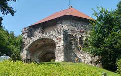 Visegrádi vár egy része
