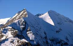 A 3798 méter magas Grossglockner csúcsa