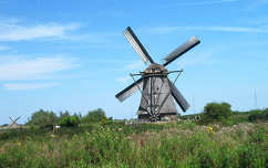 Kinderdijk, Hollandia