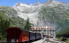 Furka Bergstrecke Svájc