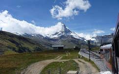 A Matterhorn a Gornergrat tetejéről