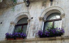 Trogir, Ablakok, Horvátország
