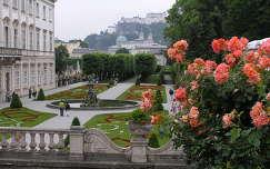 Salzburg,Mirabell kastély parkja, Ausztria