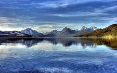Lake McDonald, Glacier Nemzeti Park, USA