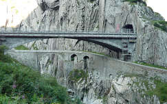 Az Ördög hídja, Andermatt, Svájc