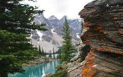 Moraine tó, Banff Nemzeti Park, Kanada