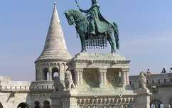 Szent István szobra, Budapest, Magyarország