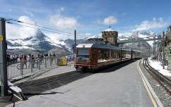 A Gornergrat tetején, Svájc