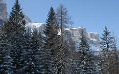 Bekoszontott a tel, Olasz Alpok