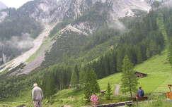 Ausztria, a Dachstein tövében Gosaunál
