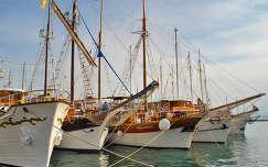 Spalato kikötő, Horvátország
