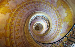 Lépcső, Melki Apátság