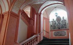 Lépcsőház, Melk, Ausztria