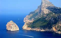 Mallorca szikla