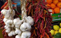 fokhagyma paprika termény zöldség