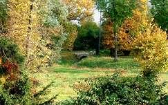Kőhíd a Nádasdy-Kastély parkjában