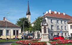 Sopron - Tornyok - utcarészlet.   fotó: Kőszály