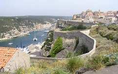 Bonifacio városa, Korzika