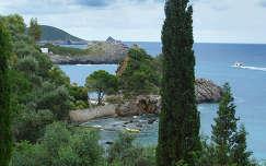 Görögország Korfu Paleokastritsa