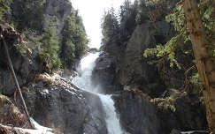 Az Ördögmalom vízesés, Bihari hegység, Erdély, Románia