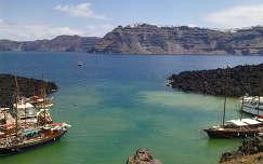 Santorini - Görögország (Vulkán kikötője)