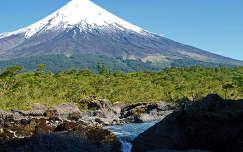Az Osorno-vulkán, Chile