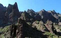 Tenerife sziklái