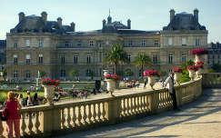 Franciaország, Párizs, Luxemburg-palota a Luxemburg-kertben
