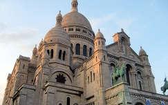 Franciaország, Párizs, Sacré Coeur Bazilika
