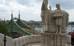 István király a Gellérthegyen, Budapest, Magyarország