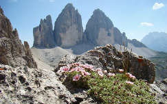 Olaszország, Dolomitok, Drei Zinnen