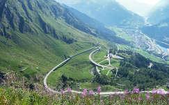 Szent-Gotthárd hágó, Svájc