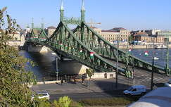 Budapest,Szabadság híd a Gellért hegyről