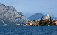 Olaszország, Garda-tó, Malcesine, vár