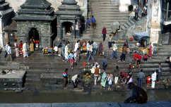 Hindu imádkozók, Pasupatinath