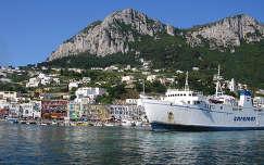Olaszország Capri kikötője