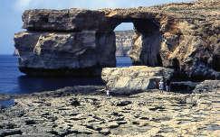 Gozó Azúr ablak, Málta