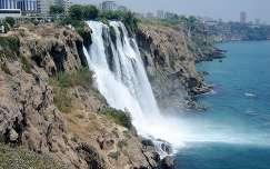 Düden-vízesés Antalyában, Törökország