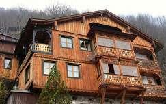 ausztria ház hallstatt faház