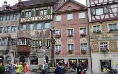 Stein am Rhein utcája, Svájc